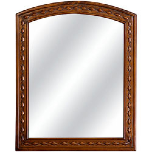 Old Charm Arched Vertical Range Mirror