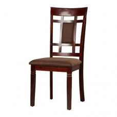 Dining Chair With Cushioned Back Rest