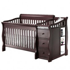 Crib With Side Station