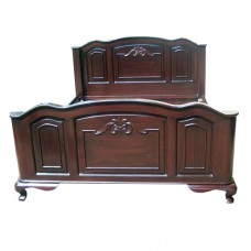 Carved Foot And Head Board King size bed