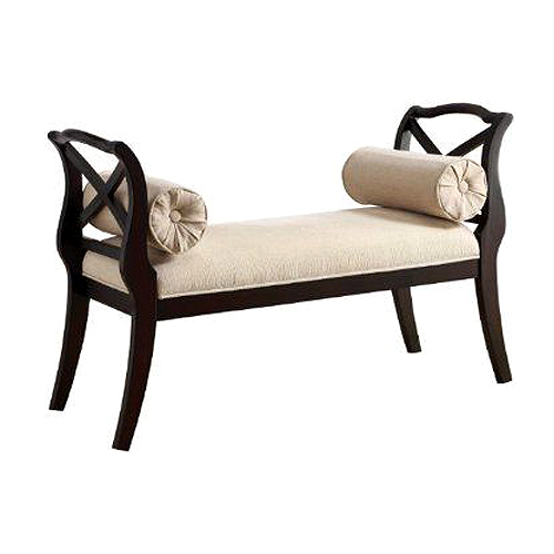 Cross Arm Two Seater Deewan Bed Footer