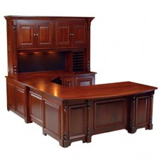 Home Office Furniture Desk With Shelves
